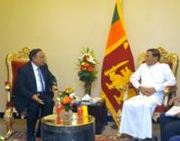 FM calls on Sri Lankan President
