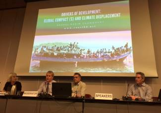 Global Solidarity and Sharing on Climate Displacement should be reflected in two UN Global Compacts